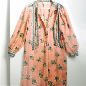 Boho hippie kimono style festival dress